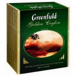 Greenfield Golden Ceylon чёрный цейлонский чай